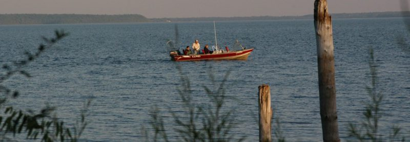 Boat on Big Bay de Nom