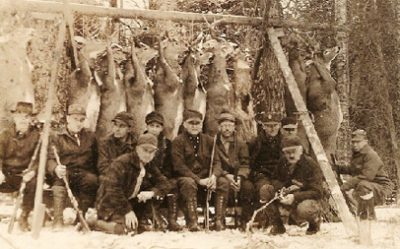 historic deer hunters