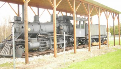 historic train engine